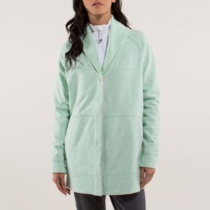 Lululemon Yin To My Yang Cardigan Sweater Mint 8